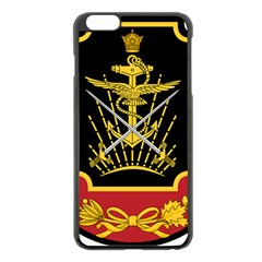 Logo Of Imperial Iranian Ministry Of War Apple Iphone 6 Plus/6s Plus Black Enamel Case