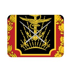 Logo Of Imperial Iranian Ministry Of War Double Sided Flano Blanket (mini)