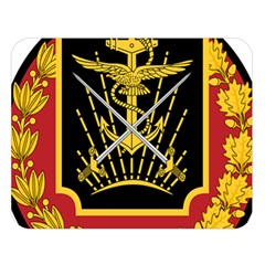 Logo Of Imperial Iranian Ministry Of War Double Sided Flano Blanket (large)