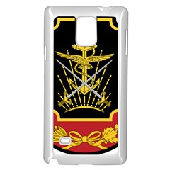Logo Of Imperial Iranian Ministry Of War Samsung Galaxy Note 4 Case (white)