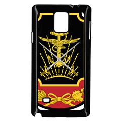 Logo Of Imperial Iranian Ministry Of War Samsung Galaxy Note 4 Case (black)