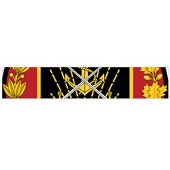 Logo Of Imperial Iranian Ministry Of War Large Flano Scarf