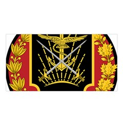 Logo Of Imperial Iranian Ministry Of War Satin Shawl