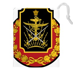 Logo Of Imperial Iranian Ministry Of War Drawstring Pouches (xxl)