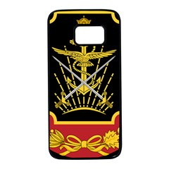 Logo Of Imperial Iranian Ministry Of War Samsung Galaxy S7 Black Seamless Case