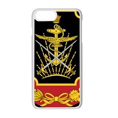 Logo Of Imperial Iranian Ministry Of War Apple Iphone 7 Plus Seamless Case (white)