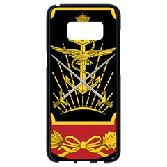 Logo Of Imperial Iranian Ministry Of War Samsung Galaxy S8 Black Seamless Case