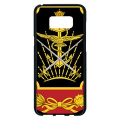 Logo Of Imperial Iranian Ministry Of War Samsung Galaxy S8 Plus Black Seamless Case