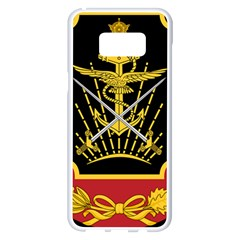 Logo Of Imperial Iranian Ministry Of War Samsung Galaxy S8 Plus White Seamless Case