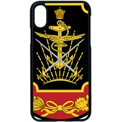 Logo Of Imperial Iranian Ministry Of War Apple Iphone X Seamless Case (black)