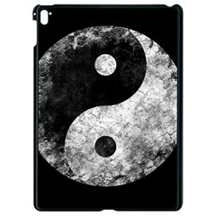 Grunge Yin Yang Apple Ipad Pro 9 7   Black Seamless Case