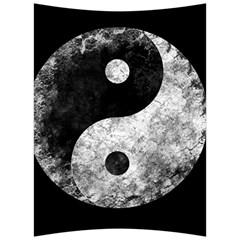 Grunge Yin Yang Back Support Cushion