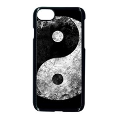 Grunge Yin Yang Apple Iphone 8 Seamless Case (black)