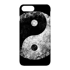 Grunge Yin Yang Apple Iphone 8 Plus Hardshell Case