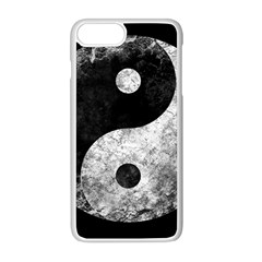Grunge Yin Yang Apple Iphone 8 Plus Seamless Case (white)