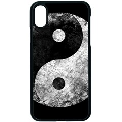 Grunge Yin Yang Apple Iphone X Seamless Case (black)