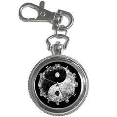 Grunge Yin Yang Key Chain Watches