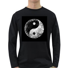 Grunge Yin Yang Long Sleeve Dark T Shirts