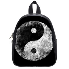 Grunge Yin Yang School Bag (small)