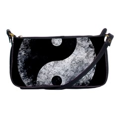 Grunge Yin Yang Shoulder Clutch Bags