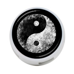 Grunge Yin Yang 4 Port Usb Hub (two Sides)
