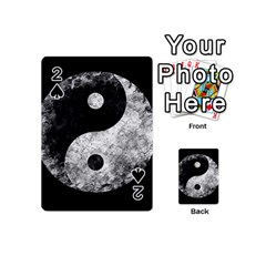 Grunge Yin Yang Playing Cards 54 (mini)