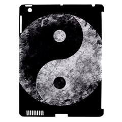 Grunge Yin Yang Apple Ipad 3/4 Hardshell Case (compatible With Smart Cover)