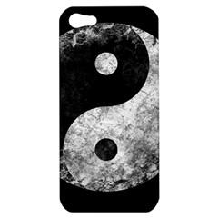 Grunge Yin Yang Apple Iphone 5 Hardshell Case
