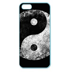 Grunge Yin Yang Apple Seamless Iphone 5 Case (color)
