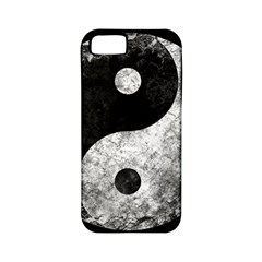 Grunge Yin Yang Apple Iphone 5 Classic Hardshell Case (pc+silicone)