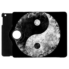 Grunge Yin Yang Apple Ipad Mini Flip 360 Case