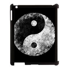 Grunge Yin Yang Apple Ipad 3/4 Case (black)