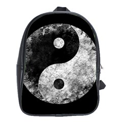 Grunge Yin Yang School Bag (xl)