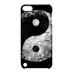 Grunge Yin Yang Apple Ipod Touch 5 Hardshell Case With Stand