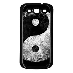 Grunge Yin Yang Samsung Galaxy S3 Back Case (black)