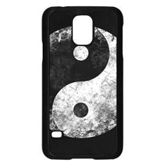 Grunge Yin Yang Samsung Galaxy S5 Case (black)