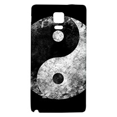 Grunge Yin Yang Galaxy Note 4 Back Case