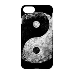 Grunge Yin Yang Apple Iphone 7 Hardshell Case