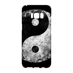 Grunge Yin Yang Samsung Galaxy S8 Hardshell Case