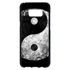 Grunge Yin Yang Samsung Galaxy S8 Plus Black Seamless Case