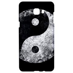 Grunge Yin Yang Samsung C9 Pro Hardshell Case