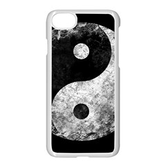 Grunge Yin Yang Apple Iphone 8 Seamless Case (white)