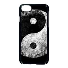 Grunge Yin Yang Apple Iphone 8 Seamless Case (black)