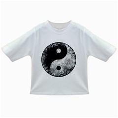 Grunge Yin Yang Infant/toddler T Shirts