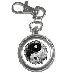 Grunge Yin Yang Key Chain Watches