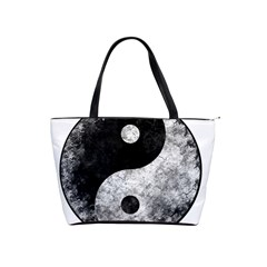 Grunge Yin Yang Shoulder Handbags