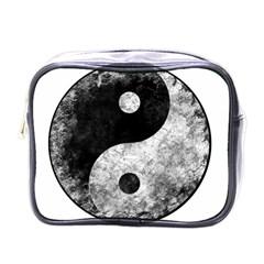 Grunge Yin Yang Mini Toiletries Bags