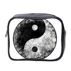 Grunge Yin Yang Mini Toiletries Bag 2 Side