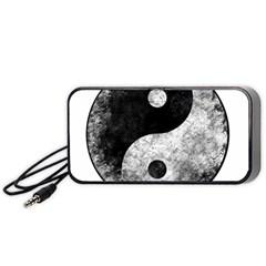 Grunge Yin Yang Portable Speaker