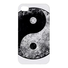 Grunge Yin Yang Apple Iphone 4/4s Hardshell Case